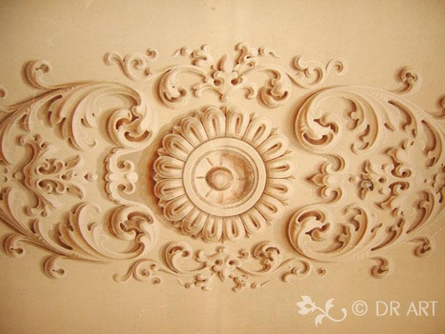 Decorazione Delle Pareti Opere Darte : Decorazione di interni ed esterni opere d arte uniche e